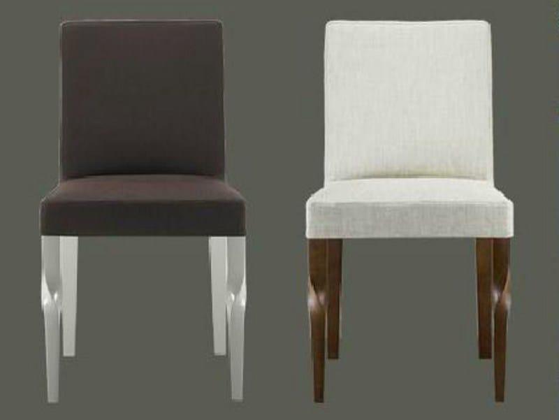 Sedia Linfa Design Morgana Imbottita In Legno EDWH29I