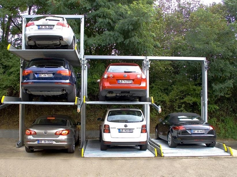 Automatic parking systems PARKLIFT 421 by IDEALPARK