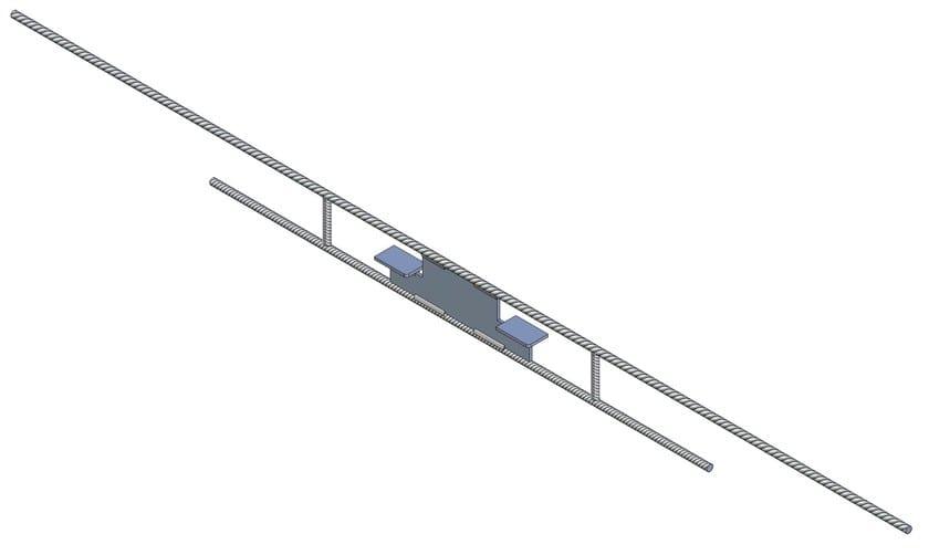 MENSOLINO Mensolino elemento per solette a sbalzo senza ponte termico