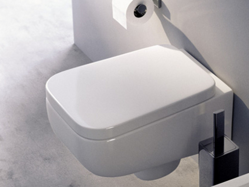 Wall-hung ceramic toilet COMO | Wall-hung toilet by CERAMICA FLAMINIA