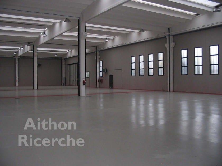 Intumescent coating for concrete structures AITHON A90 H by Aithon Ricerche