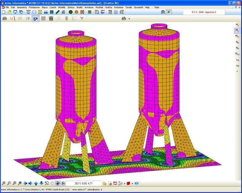 STRUCTURAL CALCULATION GEOTECHNICAL ASTRO GT by Aztec Informatica