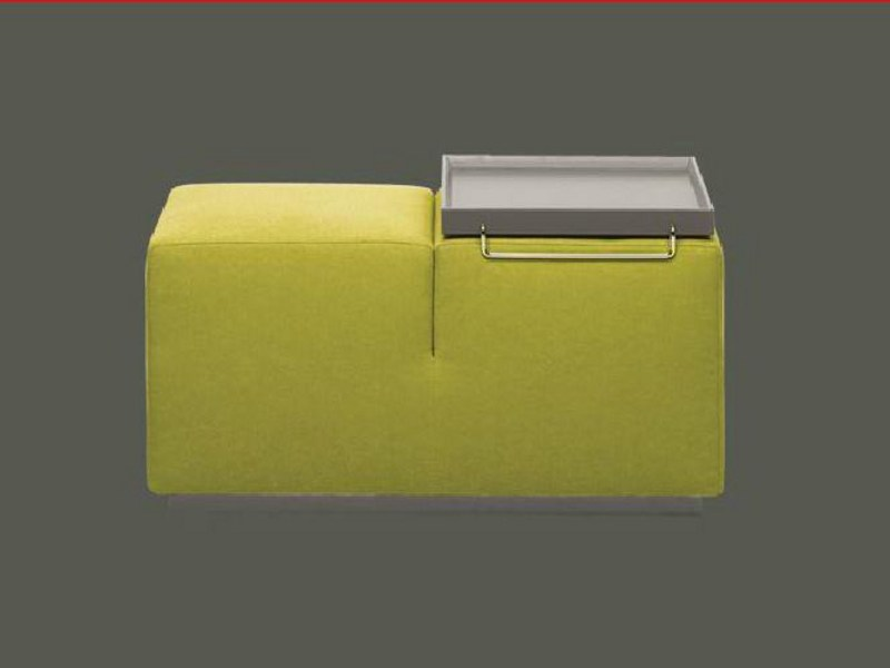 Upholstered pouf FFUOP/2 by Linfa Design