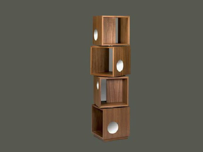 Freestanding sectional bookcase BOLLICINE TOTEM by LINFA DESIGN