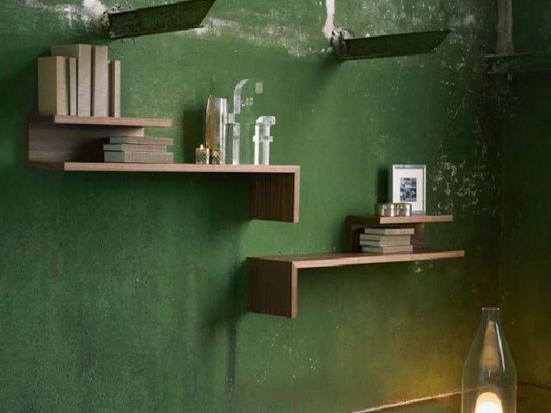 Wooden wall shelf ACROBAT by Linfa Design