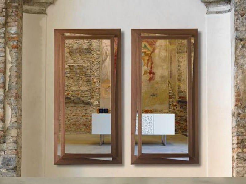 Rectangular framed mirror VANESSA by Linfa Design