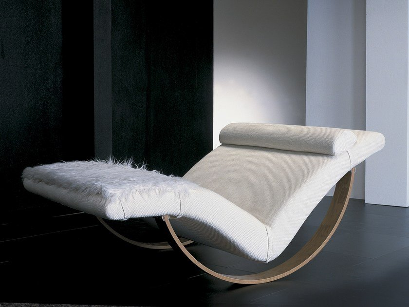 Chaise Longue Rembourre Design GABBIANO By Giovannetti