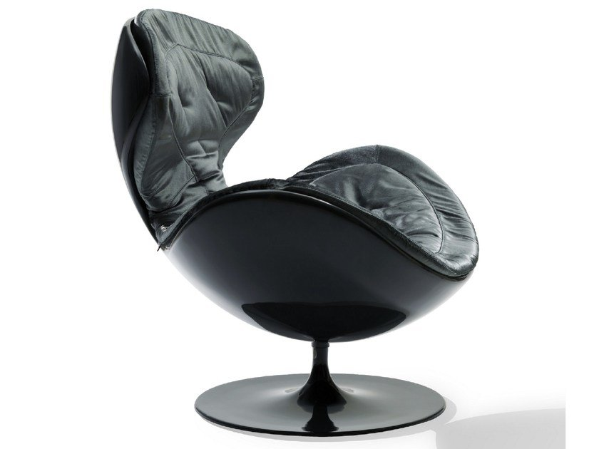 Fabric armchair with removable cover JETSONS by Giovannetti