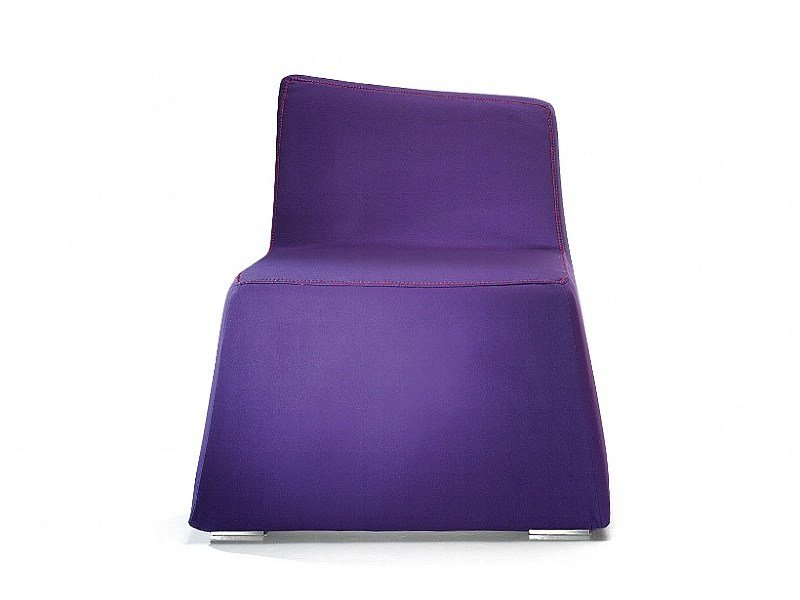 Armchair with removable cover DOLLY by ISD