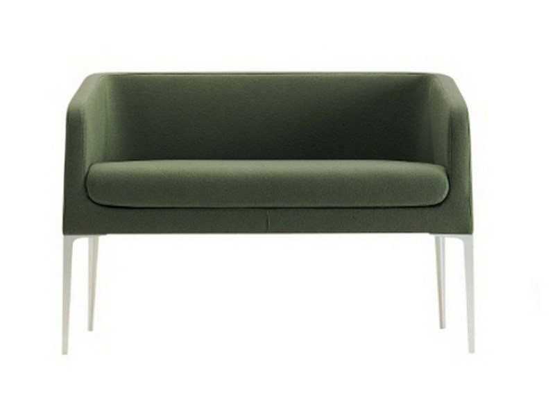 Fabric small sofa ALPHABET - BTA | Small sofa by Segis