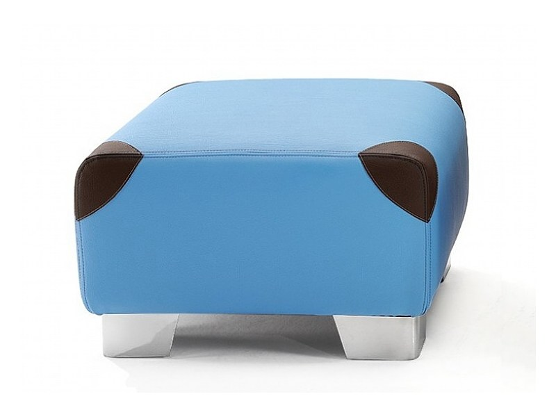 Fabric pouf with removable lining BABÀ by ISD