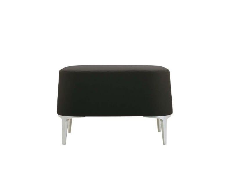 Upholstered pouf ALPHABET - DTA | Pouf by Segis