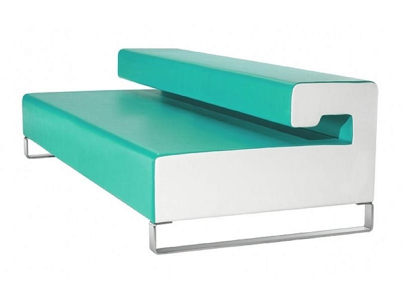 Upholstered bench SLIZE by ISD