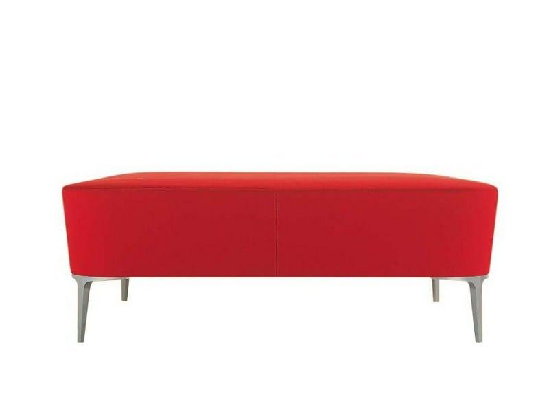 Upholstered pouf ALPHABET - KA MAXI | Pouf by Segis