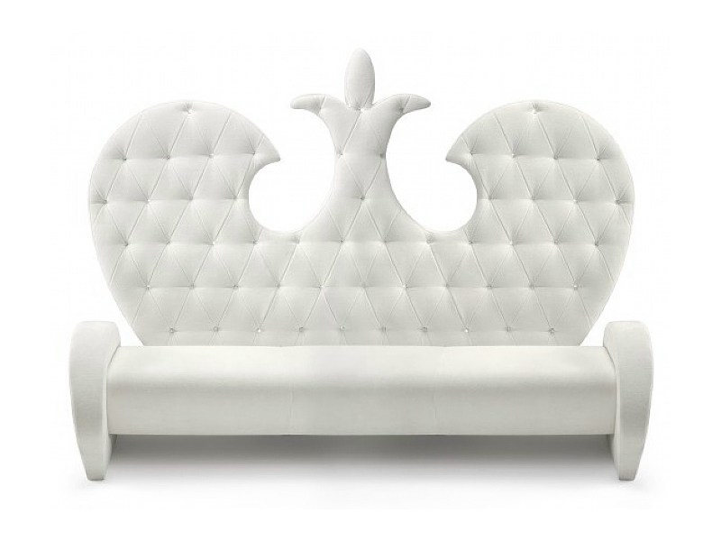 Tufted high-back sofa FLORENCE by ISD