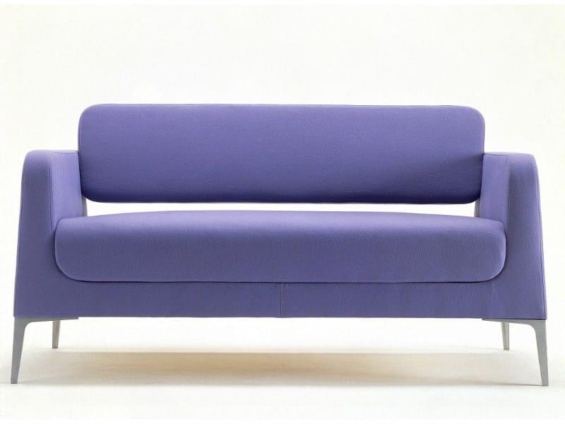 2 seater fabric sofa ALPHABET - OMG   Sofa by Segis
