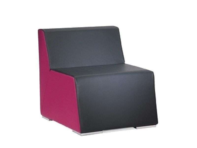 Upholstered armchair XL by ISD