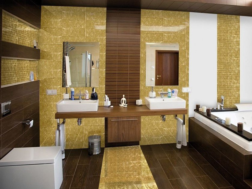 Glass wall/floor tiles JEWEL by Brecci Glass