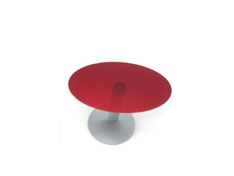 Oval tempered glass coffee table ELLIPSE PE800EL by Segis