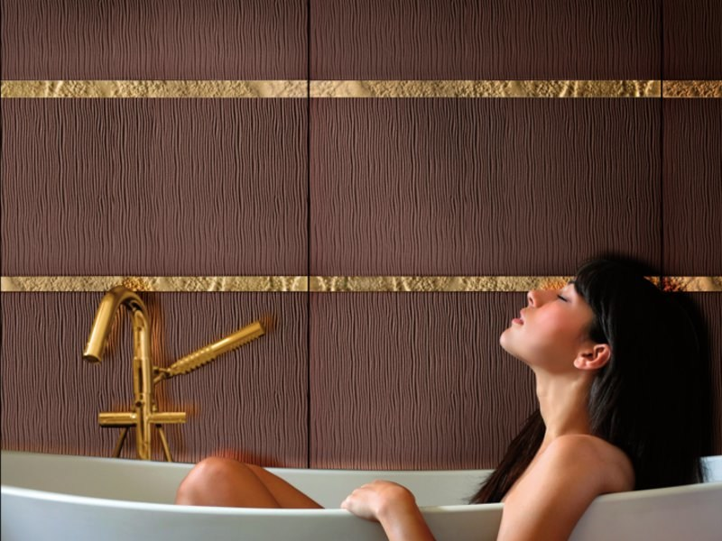 Indoor glass wall tiles SEGNI by Brecci Glass