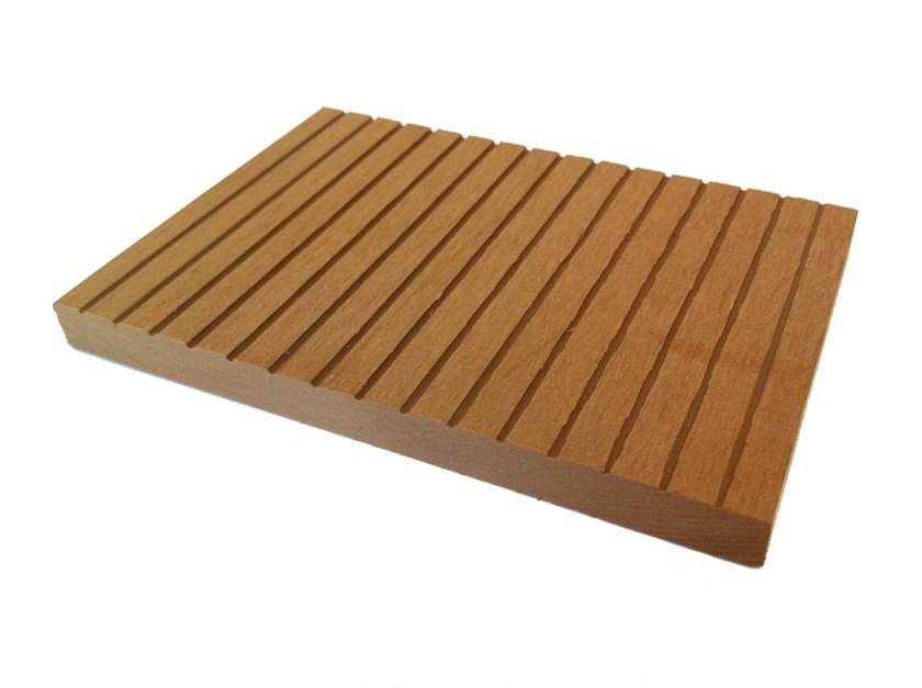 Engineered wood decking Skirting board by NOVOWOOD