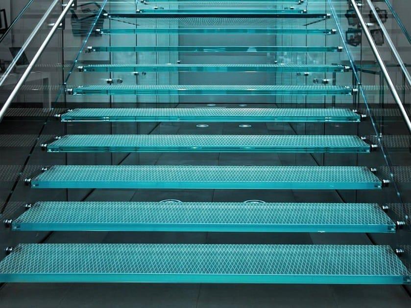 Anti-slip glass flooring UNICOLOR | Anti-slip flooring by Brecci Glass