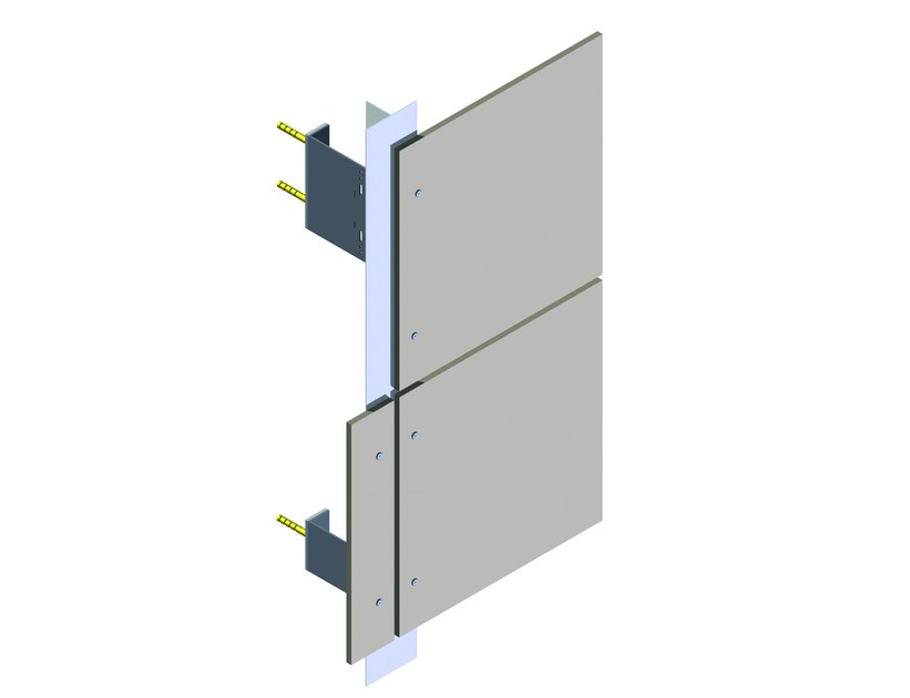 Ventilated facade Sottostrutture per facciate ventilate by INPEK