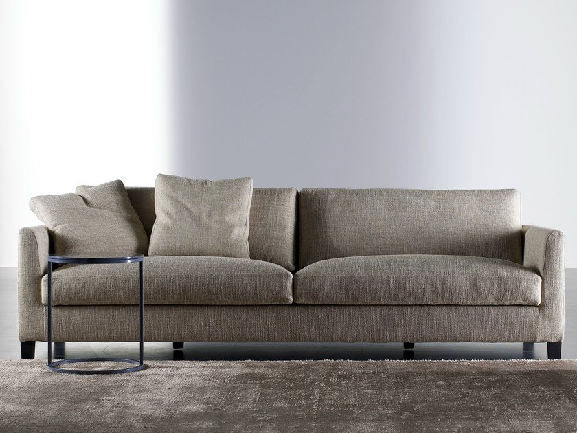 Sofa with removable cover BISSÈ | Sofa by Meridiani