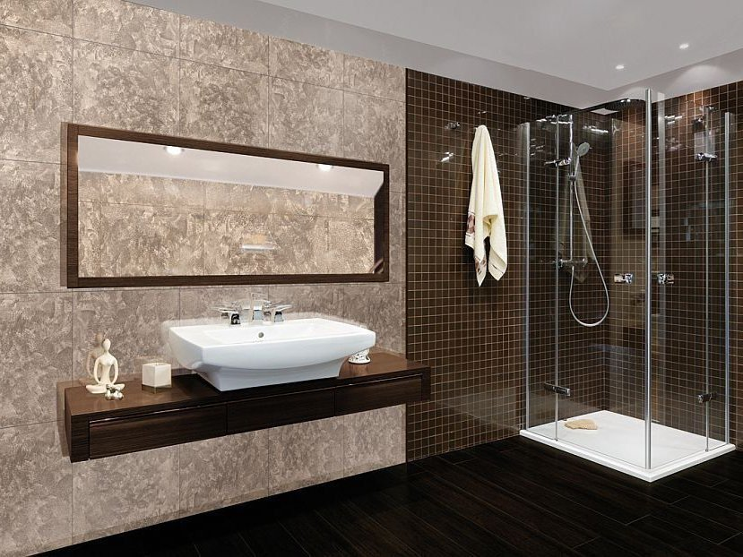 Glass wall tiles NUVOLATI by Brecci Glass