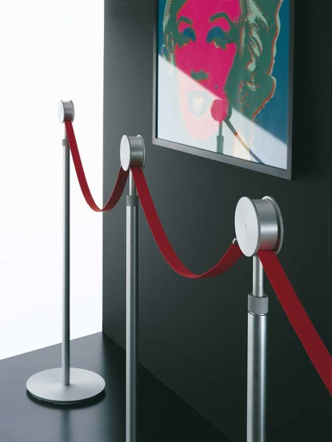 Aluminium Crowd Control Barrier CAPO-BANDA by Segis