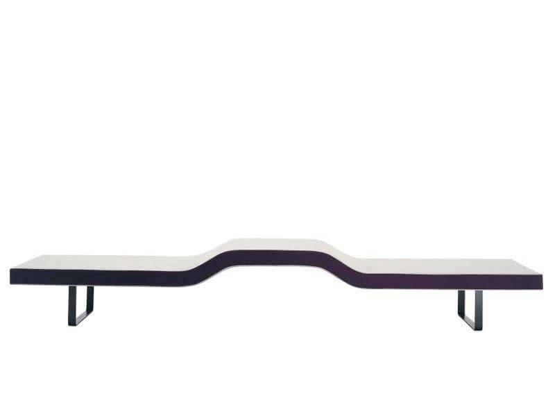Upholstered bench LONGWAY B by Segis