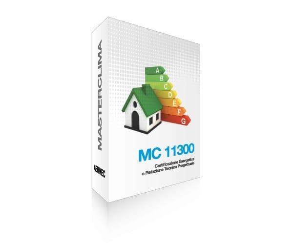 Energy certification MC Impianti 11300 by Aermec by 888SP