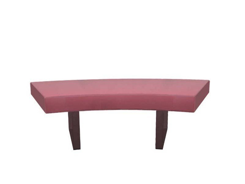 Round upholstered bench LONGWAY H by Segis
