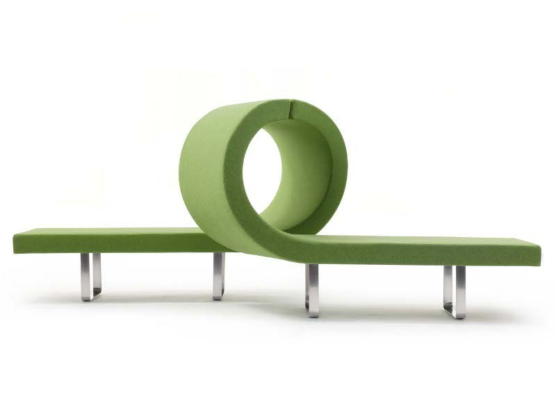 Modular bench LONGWAY L by Segis