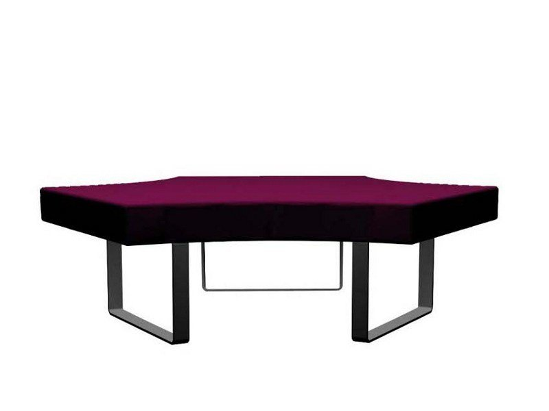 Upholstered bench LONGWAY M by Segis