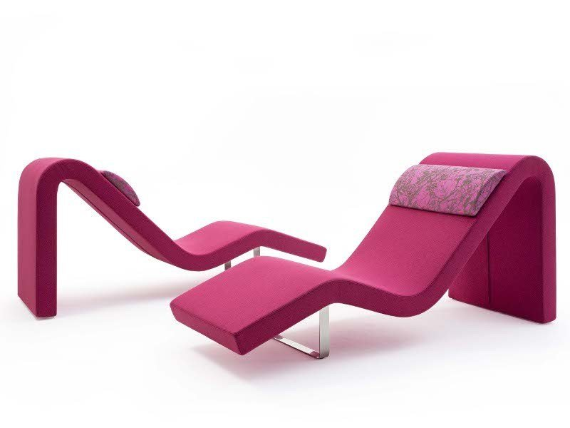 Upholstered lounge chair LONGWAY O by Segis
