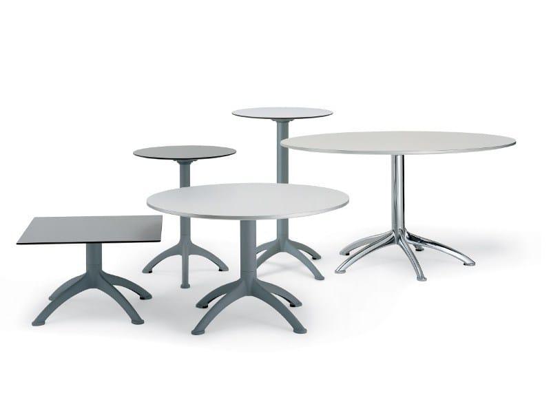 k4 quadratischer tisch by segis design bartoli design. Black Bedroom Furniture Sets. Home Design Ideas