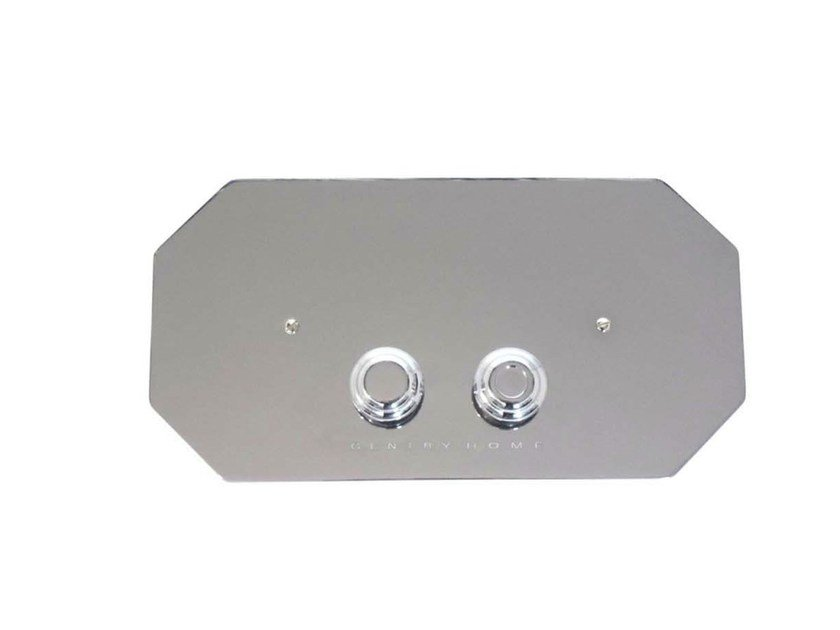 Metal flush plate HILLINGDON | Flush plate by GENTRY HOME
