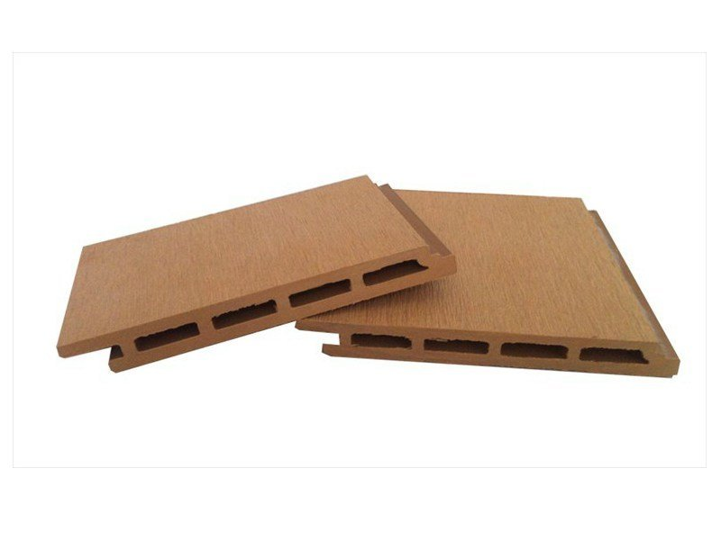Composite material facade panel Stave Ventilated Wall 127 x 15 by NOVOWOOD