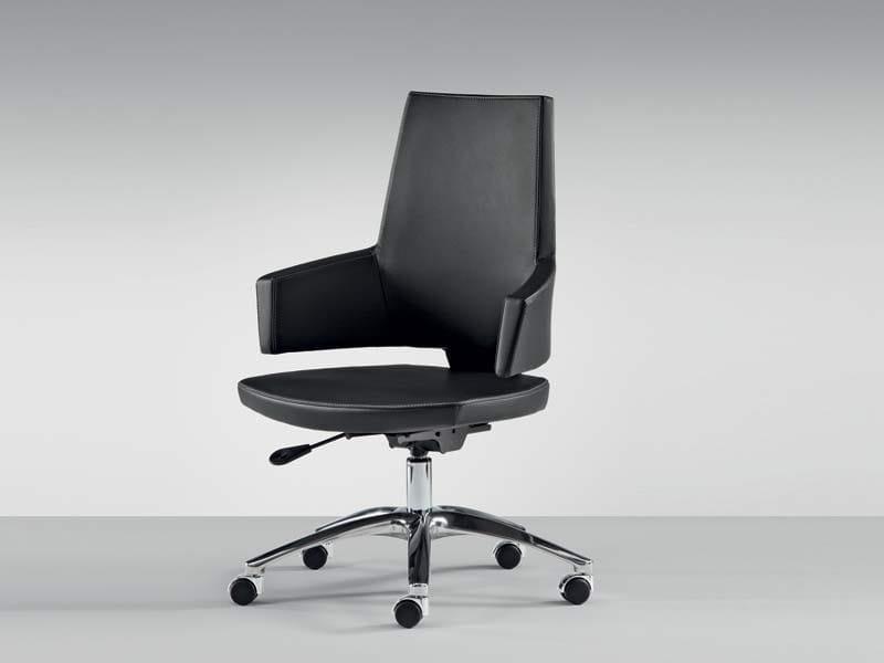 Height-adjustable medium back executive chair BOSS | Executive chair by MASCAGNI