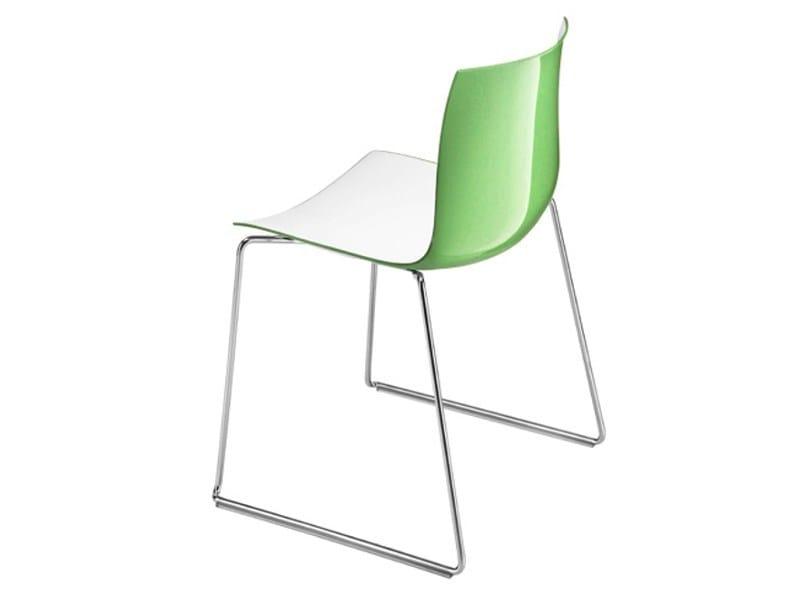 CATIFA 46 | Sled base chair