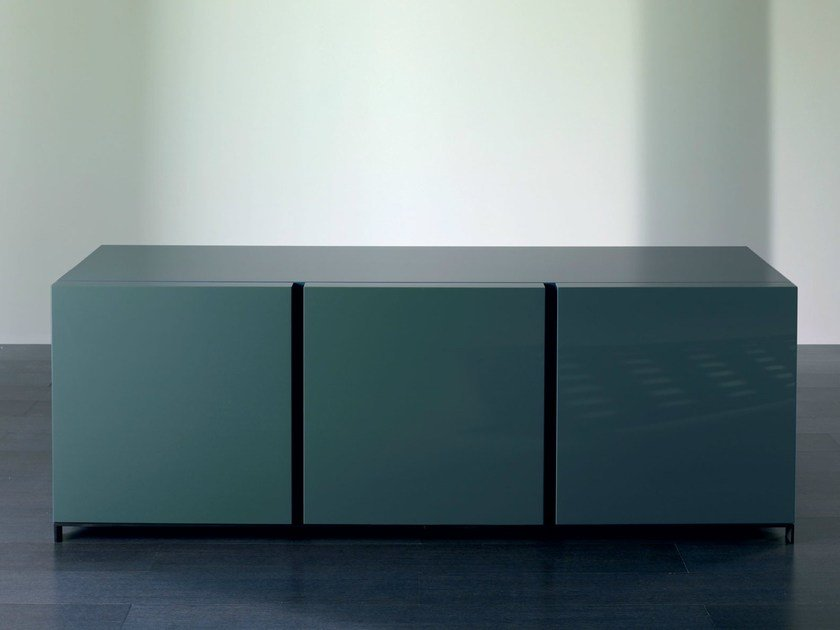 Wooden sideboard with doors BOLK | Sideboard by Meridiani