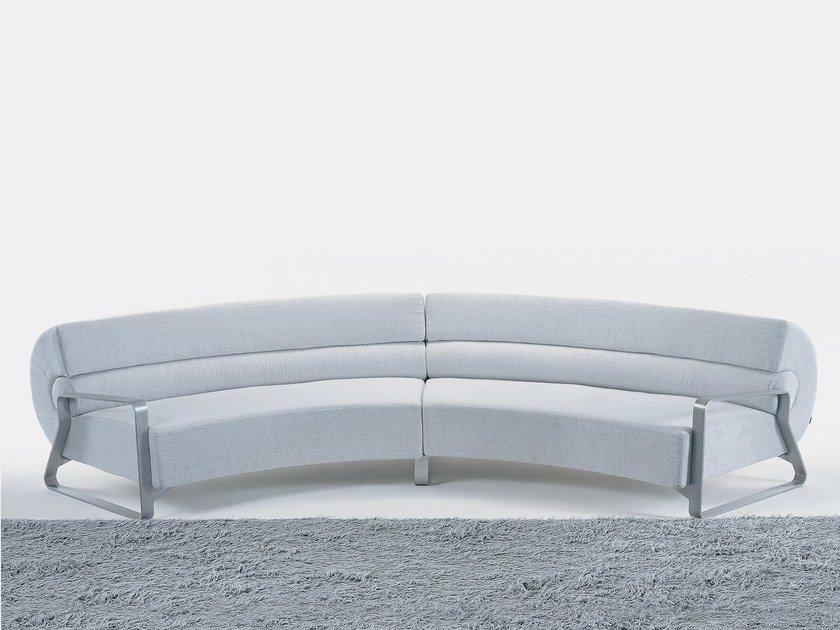 Sectional modular fabric sofa BUBBA by Giovannetti