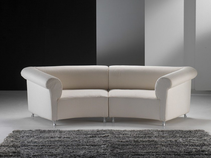Sectional fabric sofa GALASSIA LIGHT by Giovannetti