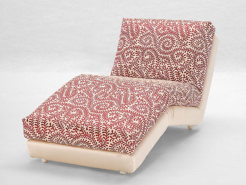 Upholstered lounge chair PAPESSA by Giovannetti