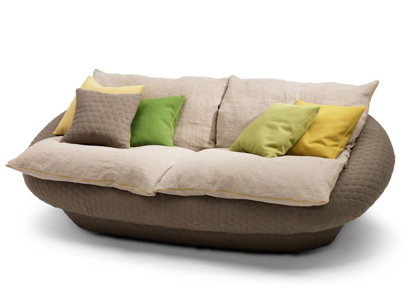 Fabric sofa TANGERI by Giovannetti