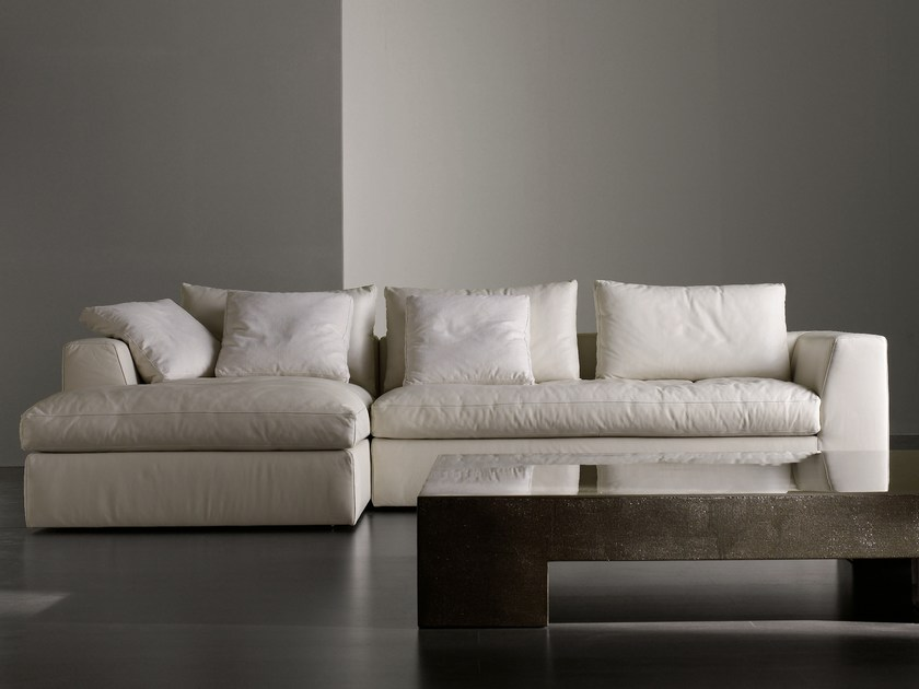 Sectional sofa LOUIS SMALL by Meridiani