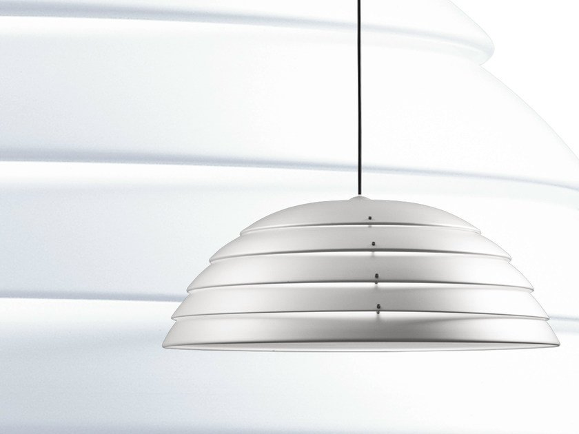 Aluminium pendant lamp CUPOLONE by Martinelli Luce
