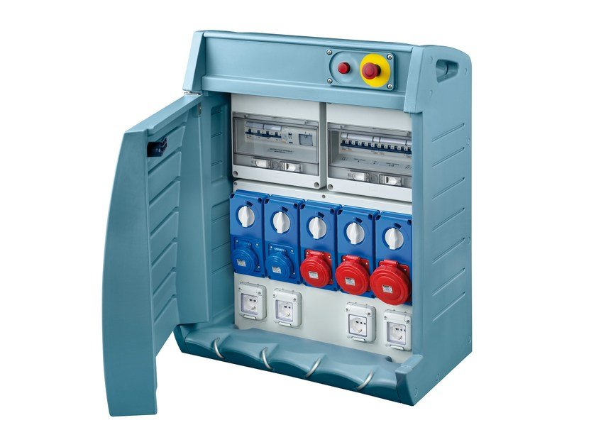 Construction site electrical switchboard 68 Q-BOX by GEWISS