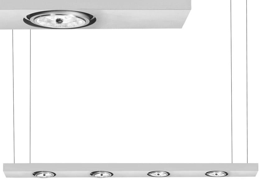 Swivel LED pendant lamp SISTEMA BRICK | LED pendant lamp by Martinelli Luce